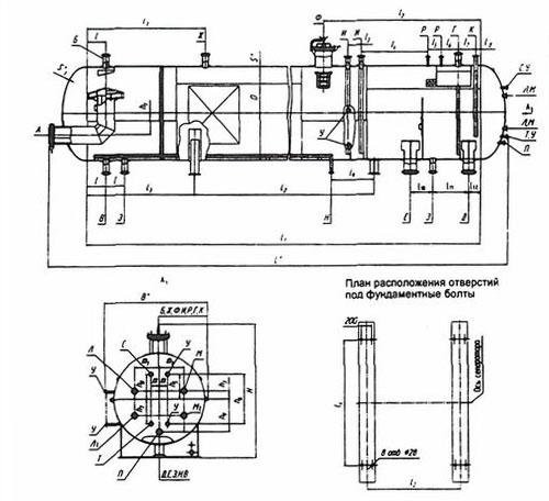 Сепаратор нефтегазовый со