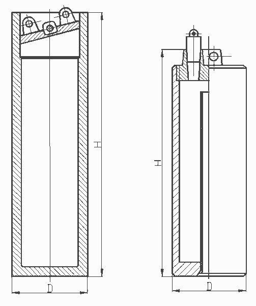 Общий вид пробоотборника ПО-1, ПО-2