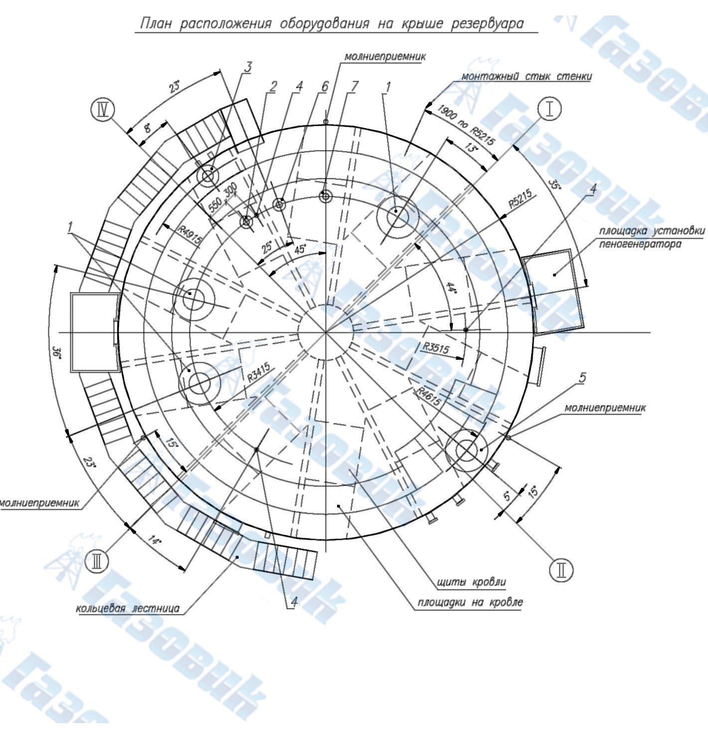 Гидроизоляции светового приямка устройства